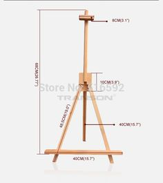 Diy Tripod, Mobile Stand, Art Easel, Cardboard Crafts, Office And School Supplies, Wood Design, Woodworking Tools, Projects To Try, Painting
