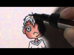 Promarker Ultrafine Nibs - Colouring Skin and Boys Hair