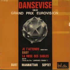 """Burt Manhattan Septet - """"Dansevise"""", instrumental cover version of the winning song Eurovision Song Contest 1963 from Denmark"""