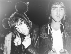 Alex Gaskgarth and Jack Barakat   All Time Low
