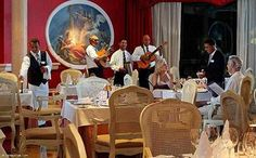 Restaurant of the Iberostar Grand Hotel Bavaro (All inclusive), Punta Cana, Dominican Republic