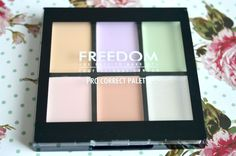 Freedom Makeup Concealer Pro Correct Palette Review