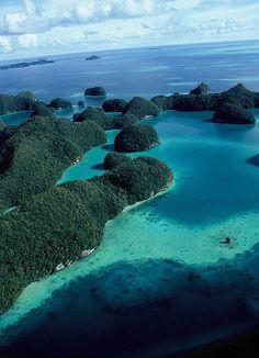 #Palau -- the Rock #islands