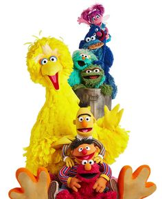 Sesame Street Characters, Disney Characters, Elmo World, Jim Henson, Television Program, Big Bird, Program Design, Disney Parks, Tigger