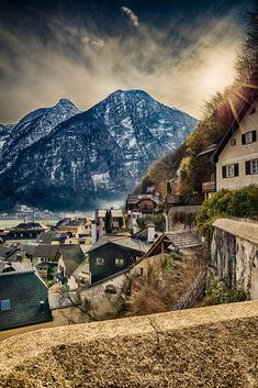 above the roofs of Hallstatt by Christian Stürzl / 500px