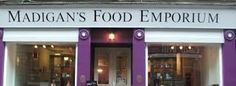 Madigan's Food Emporium, cute little place for some tea and cake! - and a good read!