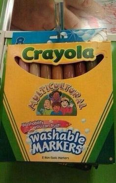Where these when I still used markers for drawing people?!??!!??!!!
