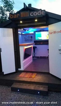 BARCODE is an entrant for Shed of the year 2013 via @readersheds