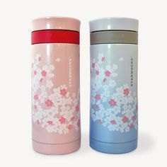 stainless coffee bottles. I bought the pink one. 2013 Sakura collection