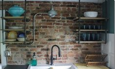 18 Kitchens with Exposed Brick Walls | The Kitchn