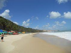 Praia do Madeiro Praia da Pipa, Brasil