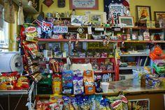 """"""" Eisler Bros Grocery and Deli """" in Rivrton Kansas   http://route66jp.info Route 66 blog ; http://2441.blog54.fc2.com https://www.facebook.com/groups/529713950495809/"""
