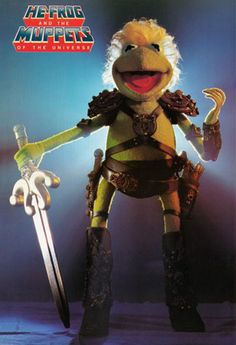He-Frog, Kermit from the Muppets as He-Man Miss Piggy, Jim Henson, Cartoon Crossovers, Cartoon Characters, Die Muppets, Sesame Street Muppets, Fraggle Rock, Christopher Reeve, The Muppet Show