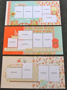 I discovered the Scrapbook Generation Monthly kits. I'm in a whole lot of trouble now!! Haha!
