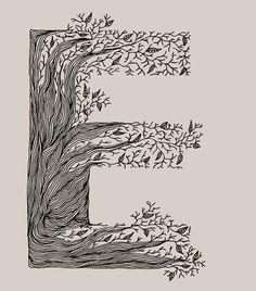 Typography Sketchbook by Meni Chatzipanagiotou, via Behance