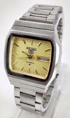 Vintage Seiko 5 Automatic 17j Movement No.6309A Japan Made Men's Watch..  | eBay