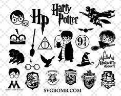 Harry Potter Castle, Harry Potter Free, Harry Potter Friends, Harry Potter Shirts, Harry Potter Drawings, Harry Potter Clip Art, Harry Potter Silhouette, Silhouette Portrait, Silhouette Machine