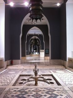 Museum of Islamic Art Indian Architecture, Architecture Design, Sacred Architecture, Islamic Art Museum, Egypt Museum, Museum Displays, Islamic Art Calligraphy, Cairo, Sacred Geometry