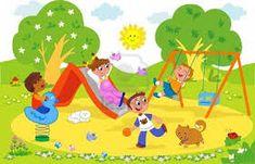 Resultado de imagen para jardin infantil dibujo