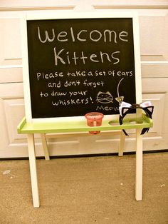 Could do with bug antennae: Love this idea for a kid's birthday party: complete with a mouse hunt, pin the tail on the cat and so many perfect little touches.
