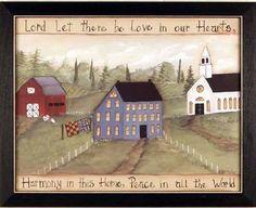 Love harmony and peace