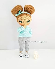 In this article we are waiting for you great amigurumi doll models. You can give yourself to these great amigurumi toys. Octopus Crochet Pattern, Crochet Amigurumi Free Patterns, Crochet Toys, Amigurumi Tutorial, Cute Crochet, Crochet For Kids, Knitting Dolls Clothes, Cute Dolls, Amigurumi Doll