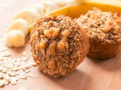 Gluten-Free Banana Oatmeal Muffin- This is a take-along breakfast or afternoon snack, the whole family will love. Made with Musselman's Apple Butter. Peanut Butter Banana, Apple Butter, Banana Oatmeal Muffins, Vegetarian Bake, Gluten Free Banana, Baking Cups, Recipe Details, Favorite Recipes, Snacks