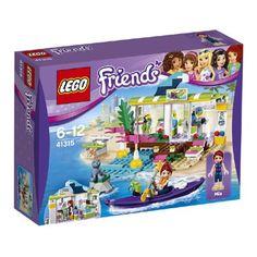 LEGO Friends Heartlake surfshop 41315 Huur een kajak en een camera in de LEGO Friends Heartlake surfshop en koop andere vakantieartikelen. LEGO-nr. 41315 EUR 21.99 Meer informatie