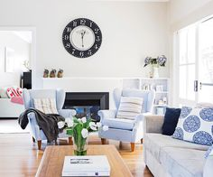 A cottage-style home on Sydney's Northern Beaches is refreshed with classic Hamptons style.
