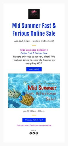 Mid Summer Fast & Furious Online Sale