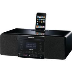 Sangean Ddr-63 Fm/Cd/Wi-Fi(Tm)/Internet Radio With Ipod(Tm) Dock by Sangean. $418.06. Description:?COMPATIBLE WITH ALL IPOD? MODELS WITH A 30-PIN DOCK CONNECTOR; ALL-IN-1 FM/RDS/CD/USB/SECURE DIGITAL CARD?/WI-FI?/SATELLITE RADIO; DOCKS & PLAYS IPOD?; MP3 RECORDABLE TO SECURE DIGITAL CARD?; CLOCK WITH ALARM & SLEEP FUNCTIONS; CD PLAYER SUPPORTS BOOKMARK FUNCTION; INCLUDES FULL-FUNCTION REMOTE