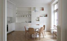 Un appartement parisien tout en douceur - Projet Bellechasse Paris par le studio d'architectes A+B Kasha