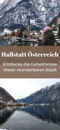 Hallstatt im Winter Reisen In Europa, Winter Hiking, Homeland, Austria, Mount Everest, Around The Worlds, Mountains, City, Places