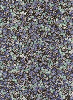 Wiltshire Berry in Blue Liberty Tana Lawn Fabric 6 x by MissElany, $4.10