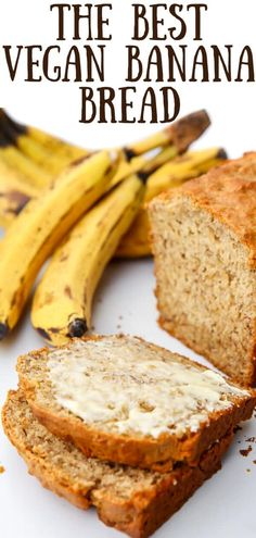 This is the best vegan banana bread recipe you will ever try! Quick and easy to make with simple everyday ingredients you probably already have. This classic banana bread bakes up perfectly moist and delicious every time! Vegan Baking Recipes, Vegan Dessert Recipes, Vegan Sweets, Whole Food Recipes, Snack Recipes, Cooking Recipes, Healthy Recipes, Vegan Recipes Simple, Raw Recipes