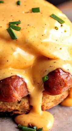 Spice up your breakfast with this easy homemade Cajun Eggs Benedict! A cajun-inspired brunch recipe with beer biscuits, andouille, and homemade hollandaise. Cajun Recipes, Egg Recipes, Gourmet Recipes, Cooking Recipes, Recipies, Breakfast Desayunos, Breakfast Dishes, Breakfast Recipes, Breakfast Specials
