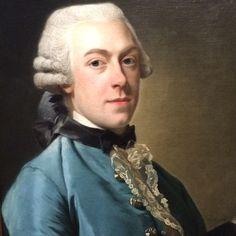 Portrait de François Fagel, 1762 Alexander Roslin Détail