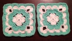 """Ravelry: Project Gallery for Shell Collection 6"""" Granny Square pattern by Shelley Husband"""