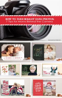How to Take Holiday Card Photos: 7 Tips for Moms Behind the Camera #photography #kids #Christmas
