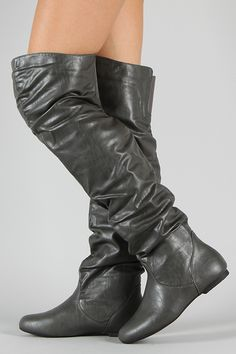 Vickie-HI Slouchy Thigh High Boot