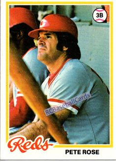 1978 Pete Rose, Reds, 1 Topps #20