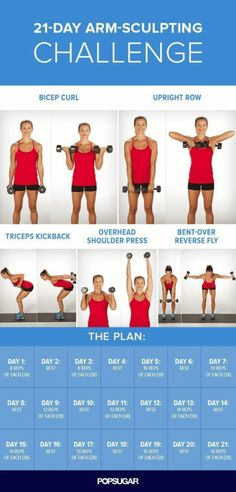 Arm Workout Challenge for Women to Lose Arm Fat If you're wondering how to lose arm fat fast?, give this 30 day arm workout challenge a go. Your arms are an important part of your body. In fact, there is no…Read more → Yoga Training, Strength Training, Marathon Training, Body Fitness, Health Fitness, Workout Fitness, Fat Workout, Workout Schedule, Mens Fitness