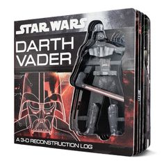 #Read11Books Star Wars: Darth Vader: A 3-D Reconstruction Log - Board Book - The Scholastic Store