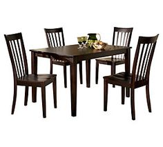 Hyland Dining Room Table and Chairs (Set of 5) $499.99 Ashley Furniture