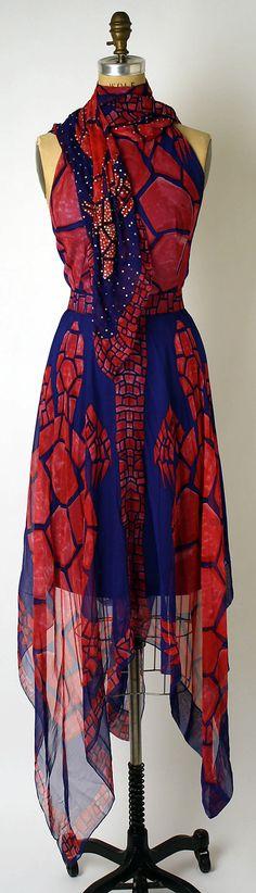Evening ensemble Pauline Trigère (American, born France, 1908–2002) Date: 1971 Culture: American Medium: silk, glass