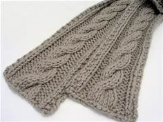 knitted scarf patterns - Bing Images