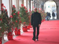Roter Teppich in Venedig...