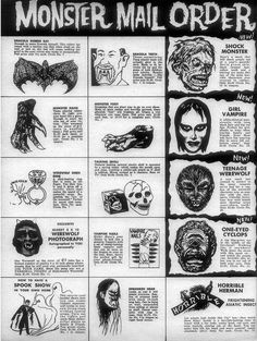 Famous Monsters of Filmland #4, 1959 by smurfwreck77, via Flickr