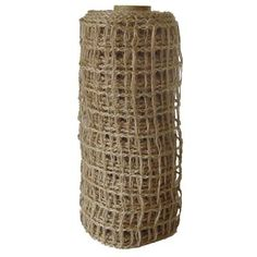 """8.5"""" Wired Jute Netting Natural www.trendytree.com $11.25"""