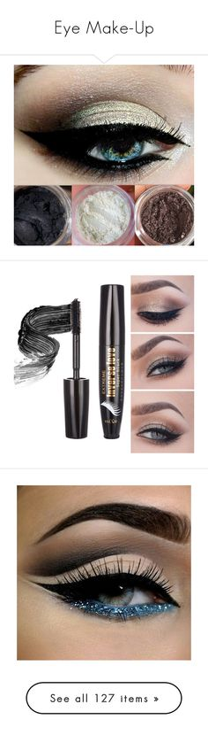 """Eye Make-Up"" by arasshjit ❤ liked on Polyvore featuring beauty products, makeup, eye makeup, eyeshadow, eyes, beauty, bath & beauty, filler, grey and blender brush"